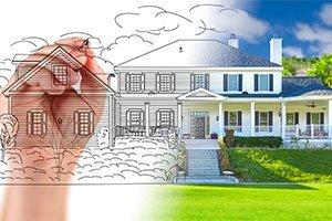 Hand Drawing Custom House Design